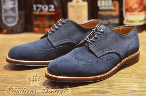 Sepatu Casual Boot New Era Edison Navy White blue suede shoes for fashion belief