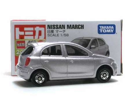 tomica nissan march sunupapa tomica 012 nissan march youtube