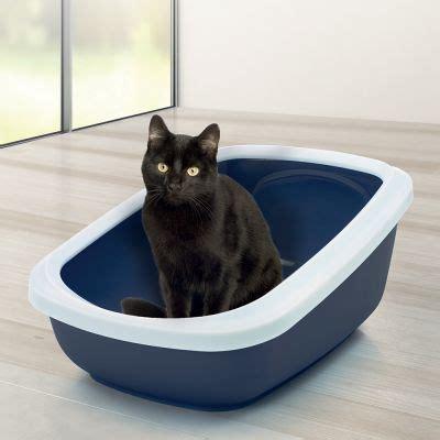 cassette igieniche per gatti cassetta igienica savic aseo con bordo alto per gatti