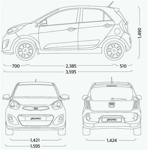 Kia Dimensions Kia Picanto Malaysian Specs Previewed On Website Image 204737