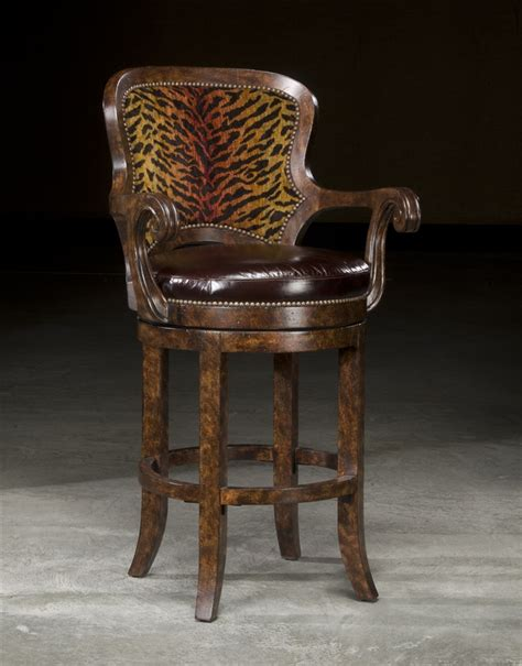 luxury bar stools high end furniture tiger bar stool