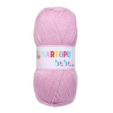 Paket Baby Pink kartopu 5 skeins bebe baby knitting yarn pink k763 hobiumyarns
