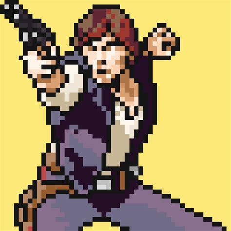 pixel wars star wars pixel art starwarspixel twitter