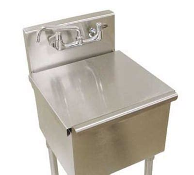 24x24 stainless steel sink advance tabco lrsc 2424re stainless cover for 6 41 24re