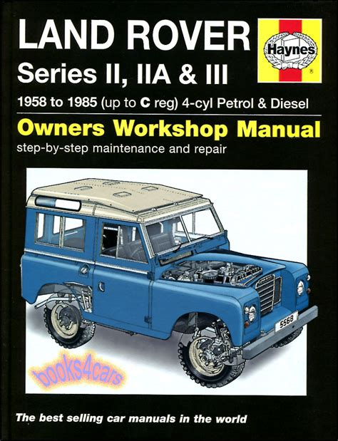 what is the best auto repair manual 1985 chevrolet corvette windshield wipe control land rover shop manual service repair book haynes gas diesel series 1958 1985 ebay