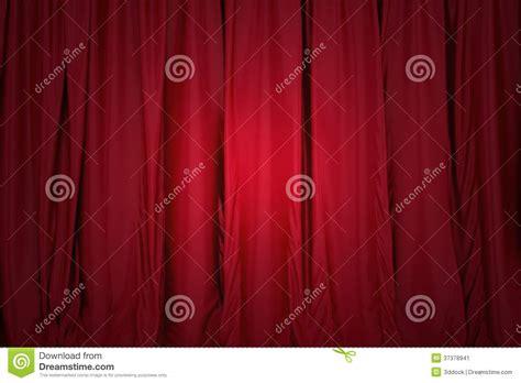 vorhang schloss rot schloss den vorhang beleuchtet durch einen