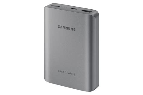 samsung fast charge 25w battery pack usb c grey cell phones accessories