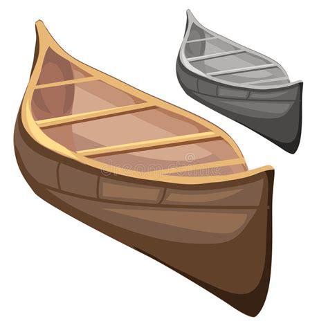 classic wooden boat  cartoon style vector stock vector