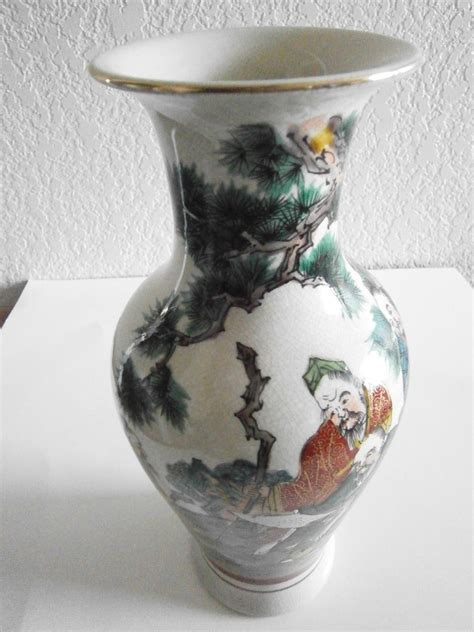 Japanese Pottery Vases by Antique Japanese Pottery Beaded Vase Collectors Weekly