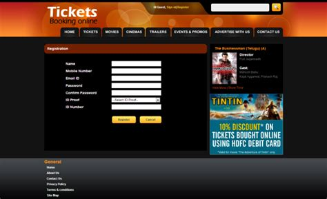 ticket booking ticket booking system