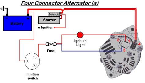 replacement alternator wiring