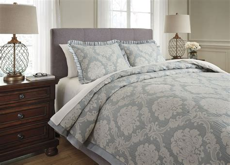 sage comforter sets joisse sage queen comforter set q332003q ashley