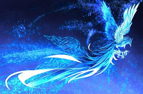 wallpaper blue phoenix blue phoenix quot stary quot by krimsonblood deviantart