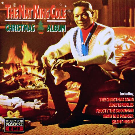 nat king cole  nat king cole christmas album cd compilation reissue stereo discogs