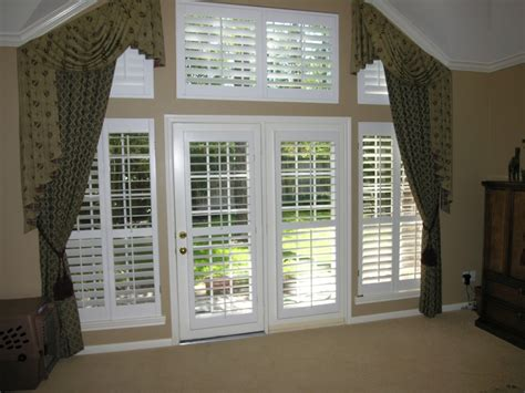 Contemporary Plantation Shutters For French Doors Prefab Shutter Blinds For Patio Doors