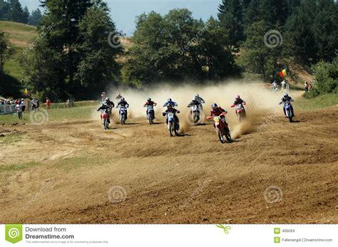 how to start racing motocross motocross start stock images image 466094