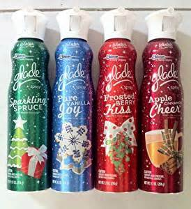 Glade Air Freshener Winter Collection Glade Winter Collection Spray Set Of 4
