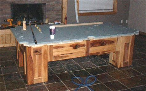 build your own pool table