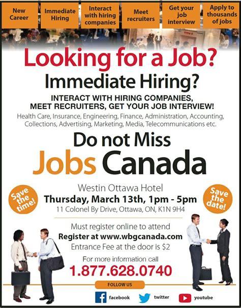 jobs hiring 1000 images about bilingual job fair canada on pinterest