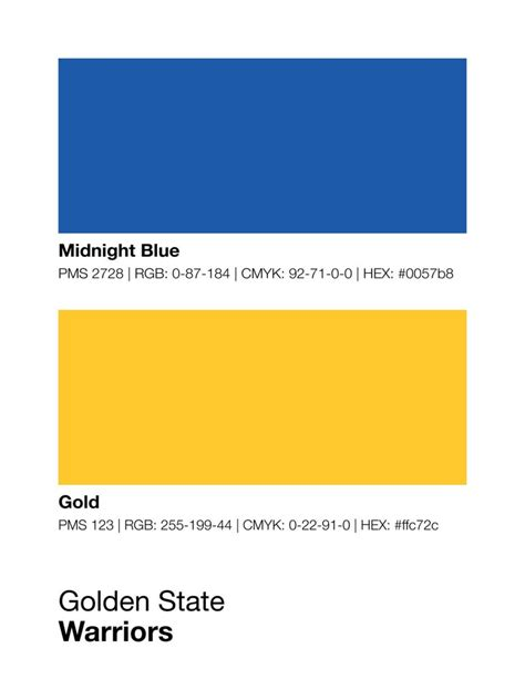 golden state warriors colors print sproutjam