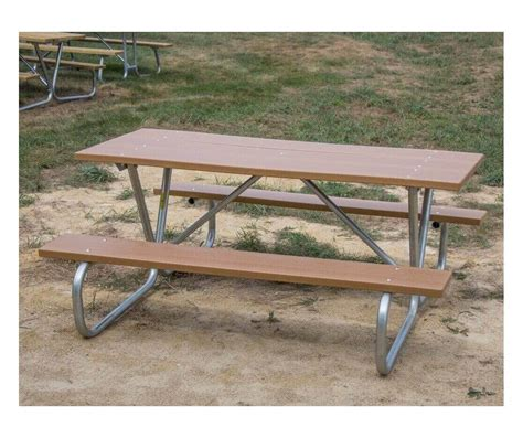 6 ft picnic table 6 ft wooden picnic table with heavy duty welded
