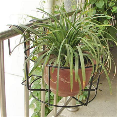 Planters For Wrought Iron Railings by Free Shipping Wrought Iron Balcony Railings Hanging Flower