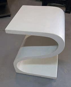 casting thin concrete furniture with gfrc | concrete