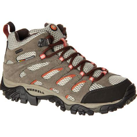 womens hiking boot merrell moab mid waterproof hiking boot s