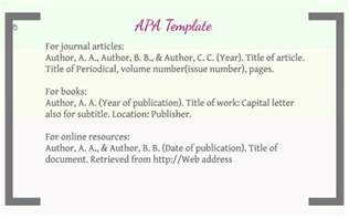 work cited template work cited page apa format exle cover letter templates