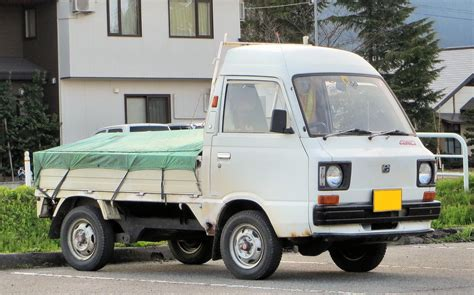 subaru sambar truck subaru