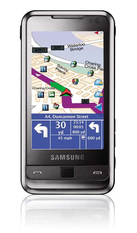 samsung omnia touchscreen handy 5mp kamera hsdpa divx gps uvm