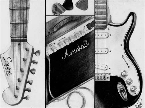 imagenes a lapiz de guitarras the gallery for gt guitarra dibujo a lapiz