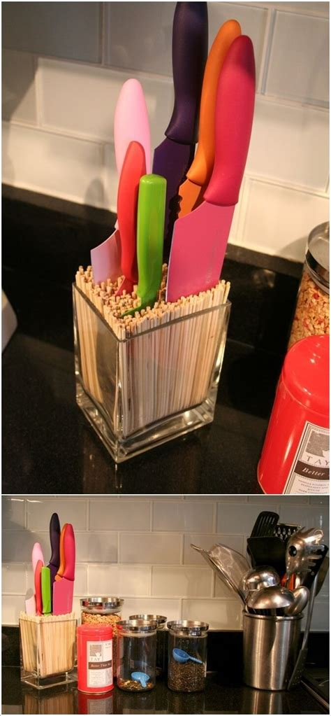 best way to store kitchen knives 10 creative ways to store kitchen knives