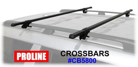 Roof Rack Crossbars by Proline Cb5800 Roof Rack Railing Cross Bars