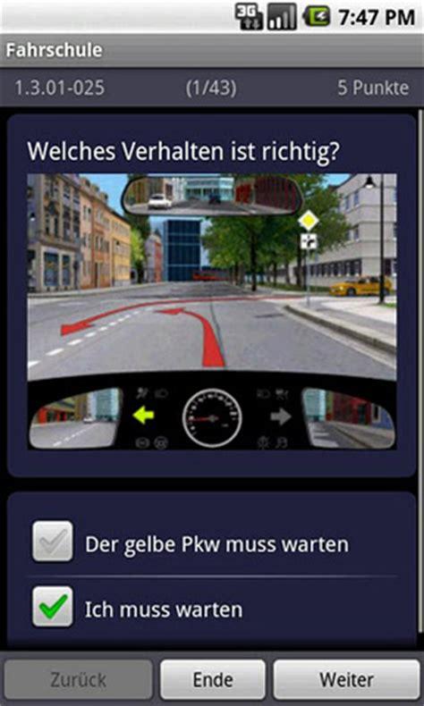 Auto Pr Fungsfragen by Die Besten Android Apps F 252 R Die F 252 Hrerscheinpr 252 Fung