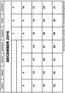 write in calendars for 2016 calendar template 2016