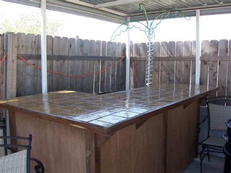build a backyard bar homemade patio bars cowgirl s country life building my