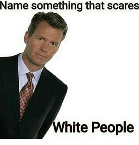 Name Memes - name something that scares white people meme on sizzle