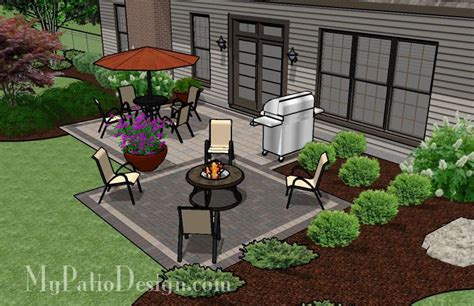 simple patio designs with pavers simple and affordable brick patio design downloadable