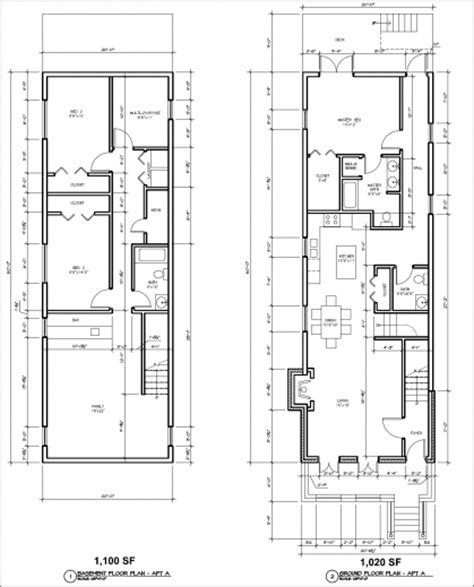 2 bedroom 1 bath duplex floor plans contemporary townhouse plans joy studio design gallery