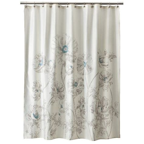 aqua shower curtains threshold floral shower curtain aqua decor ideas