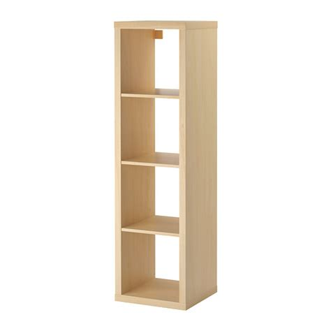 kallax shelving unit birch effect ikea