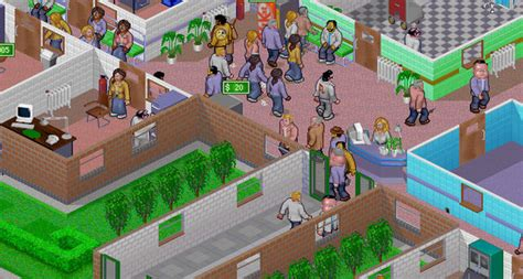 theme hospital newspaper theme hospital now on gog for 5 99 shacknews