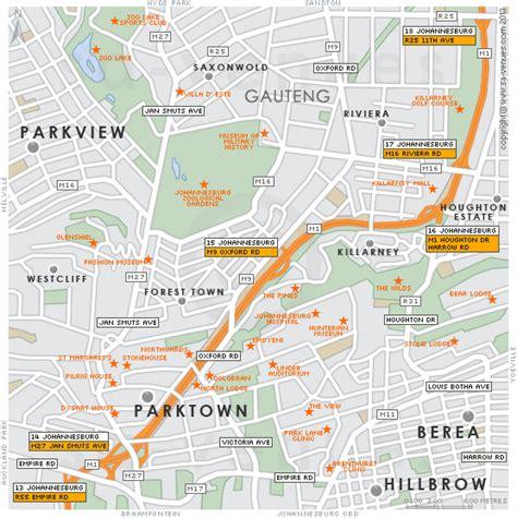 Parktown Map