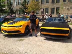 the new bumblebee car transformers 4 age of extinctionby american cars