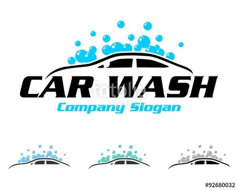 Quot Car Washing Logo Quot Stock Image And Royalty Free Vector Files On Fotolia Com Pic 92680032 Car Wash Logo Template Free