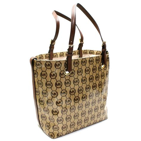 Mono Color Vnc Cosmetic Pouch michael kors jet set mono coated jacquard grab bag mocha