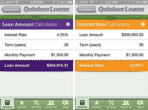 house loan interest rates calculator mortgage calculator by quicken loans for iphone review imore