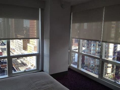 corner of a room corner room view picture of yotel new york at times
