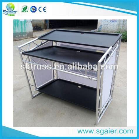 tavolo consolle dj buon mercato mobile tavolo in alluminio per consolle dj